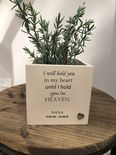 Personalised Flower / Plant Pot In Memory Of Loved One NANA GRAN NAN Or ANY NAME - 254324622416